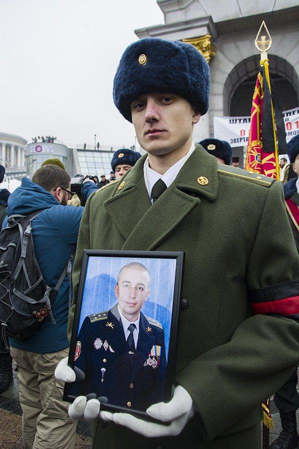 Киев простился с бойцами, погибшими под Авдеевкой (ФОТОРЕПОРТАЖ), фото-25