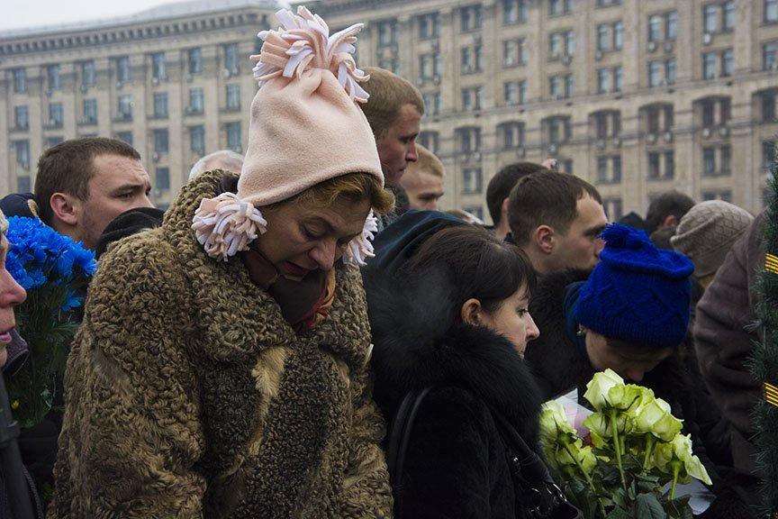 Киев простился с бойцами, погибшими под Авдеевкой (ФОТОРЕПОРТАЖ), фото-4