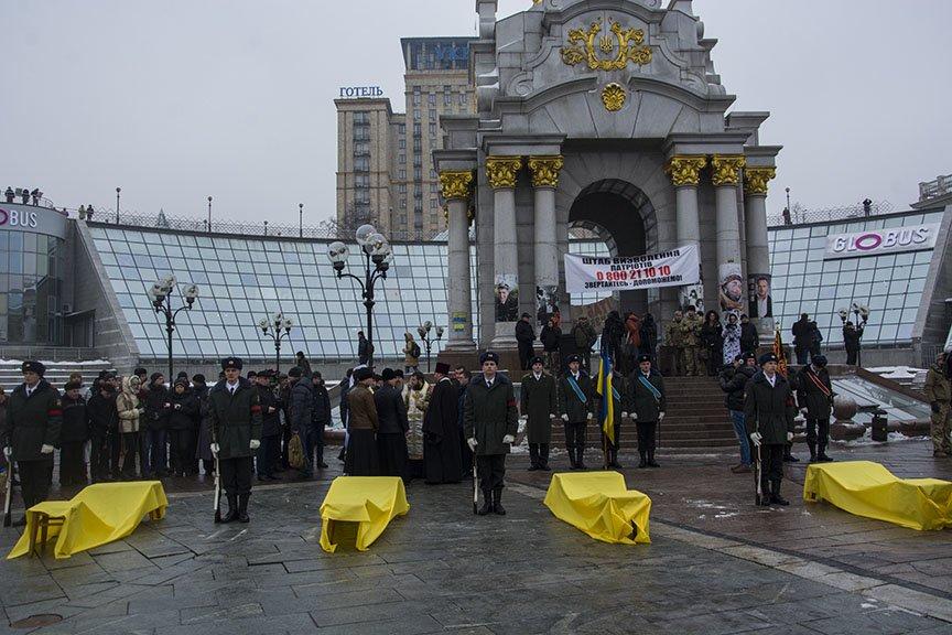 Киев простился с бойцами, погибшими под Авдеевкой (ФОТОРЕПОРТАЖ), фото-3