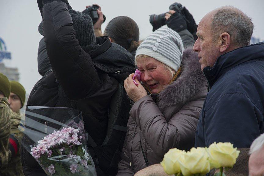 Киев простился с бойцами, погибшими под Авдеевкой (ФОТОРЕПОРТАЖ), фото-8
