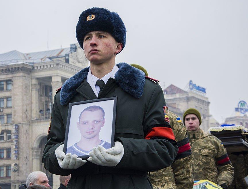 Киев простился с бойцами, погибшими под Авдеевкой (ФОТОРЕПОРТАЖ), фото-7