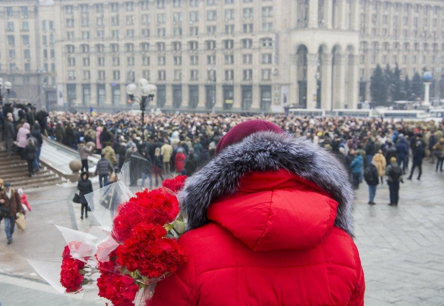 Киев простился с бойцами, погибшими под Авдеевкой (ФОТОРЕПОРТАЖ), фото-18