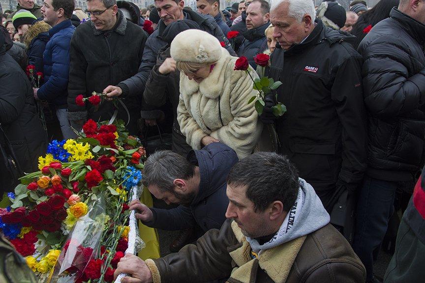 Киев простился с бойцами, погибшими под Авдеевкой (ФОТОРЕПОРТАЖ), фото-20
