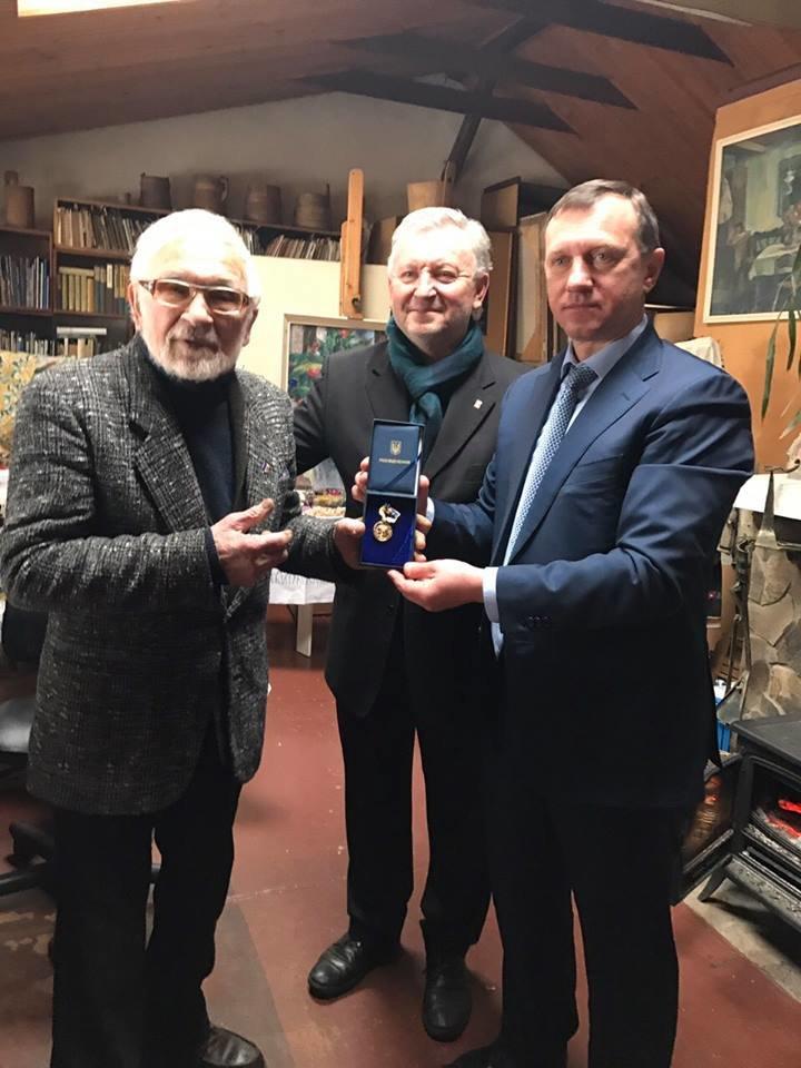 Як народний художник Володимир Микита 86-річчя святкував: фото, фото-2