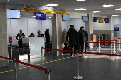 Сначала багаж, потом досмотр – в аэропорту Елизова регистрируют по-новому, фото-9