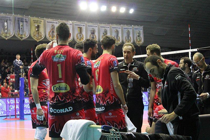 «Белогорье» проиграло ответный матч «Перудже» в Лиге чемпионов, фото-11