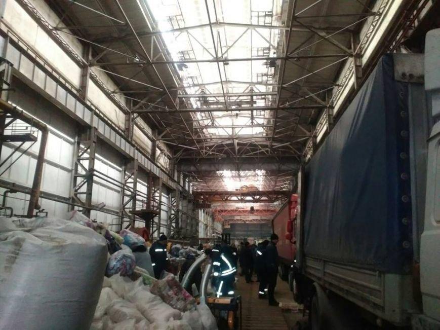Буржуйки, дизпаливо та 20 тон гуманітарного вантажу відправлено до Авдіївки, фото-3