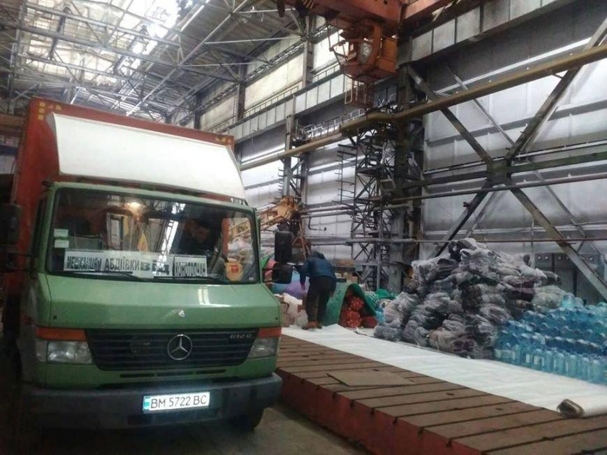 Буржуйки, дизпаливо та 20 тон гуманітарного вантажу відправлено до Авдіївки, фото-4