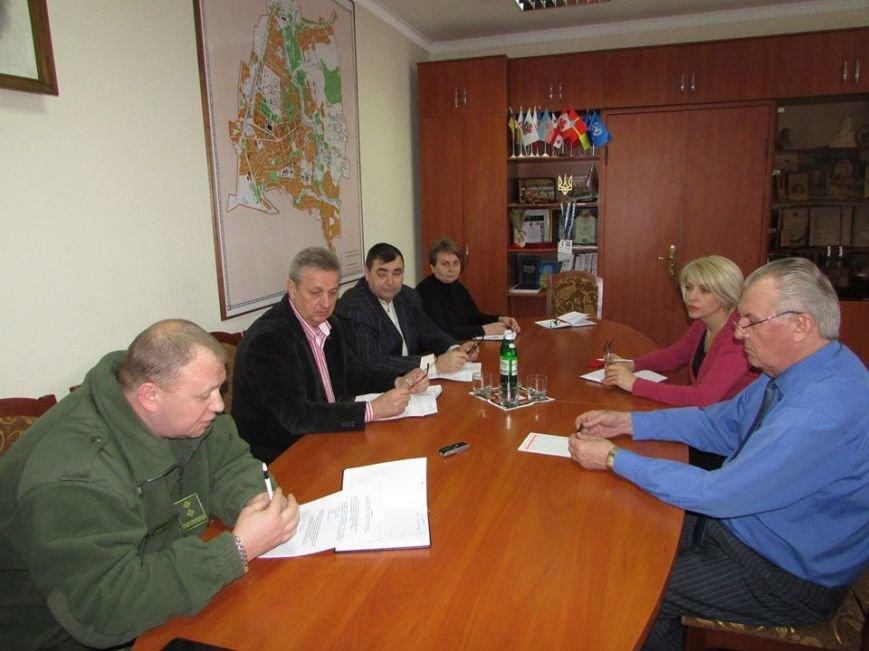 Міський голова зустрівся з начальником Новоград-Волинської КЕЧ району, фото-1
