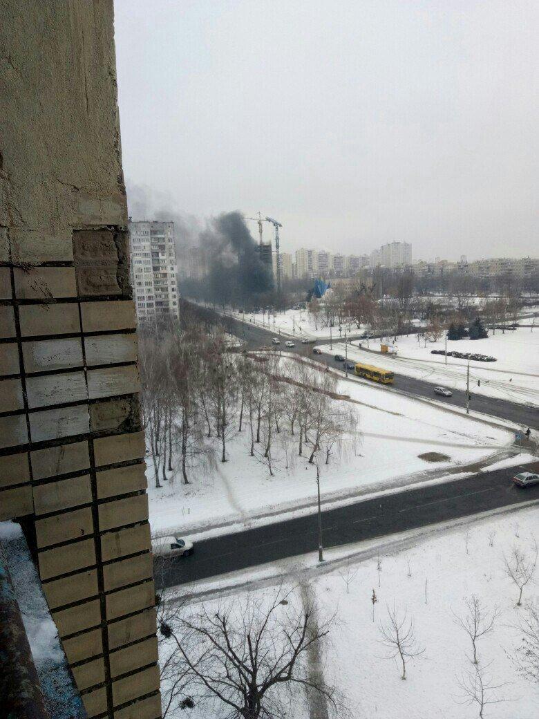 В Киеве произошел масштабный пожар в новостройке (ФОТО), фото-3