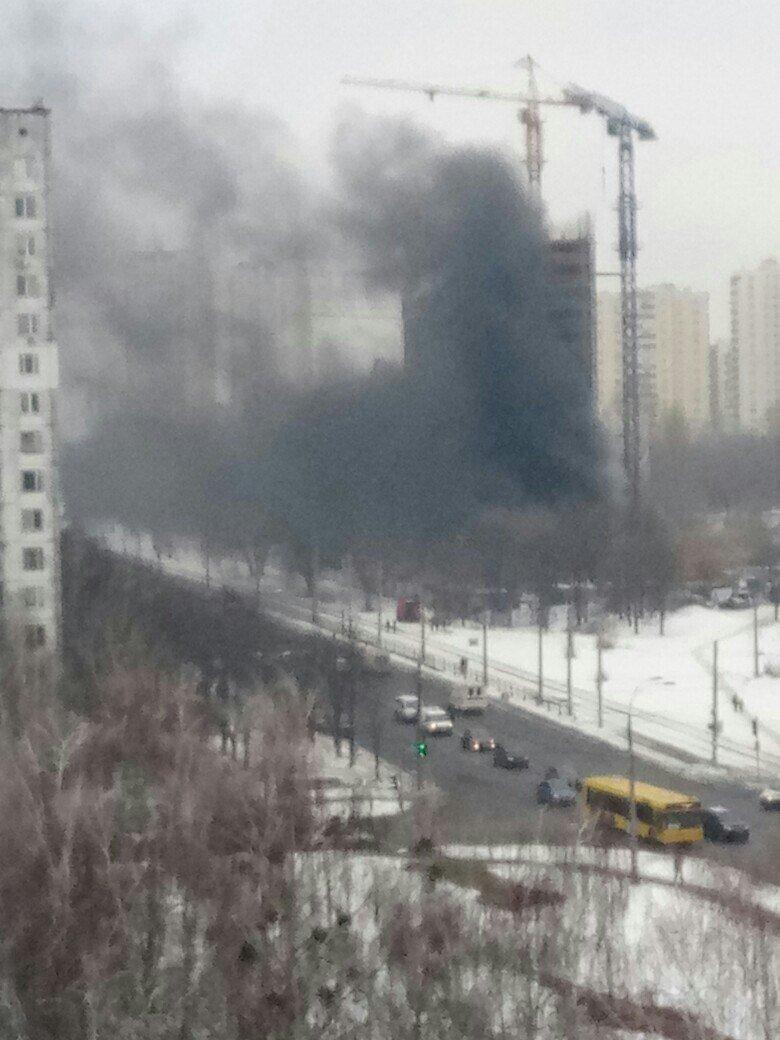 В Киеве произошел масштабный пожар в новостройке (ФОТО), фото-2