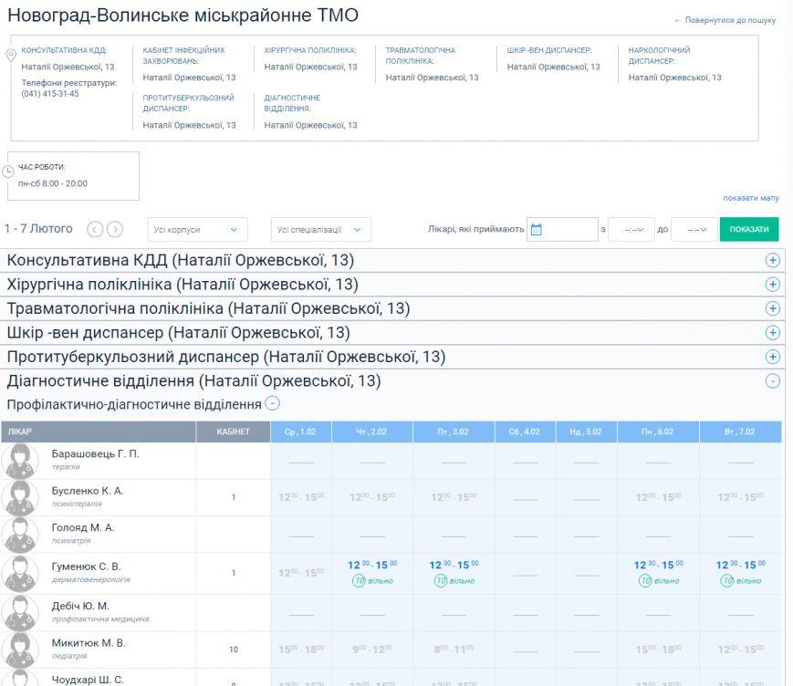 У Новограді-Волинському записатися до лікаря можна через інтернет, фото-2