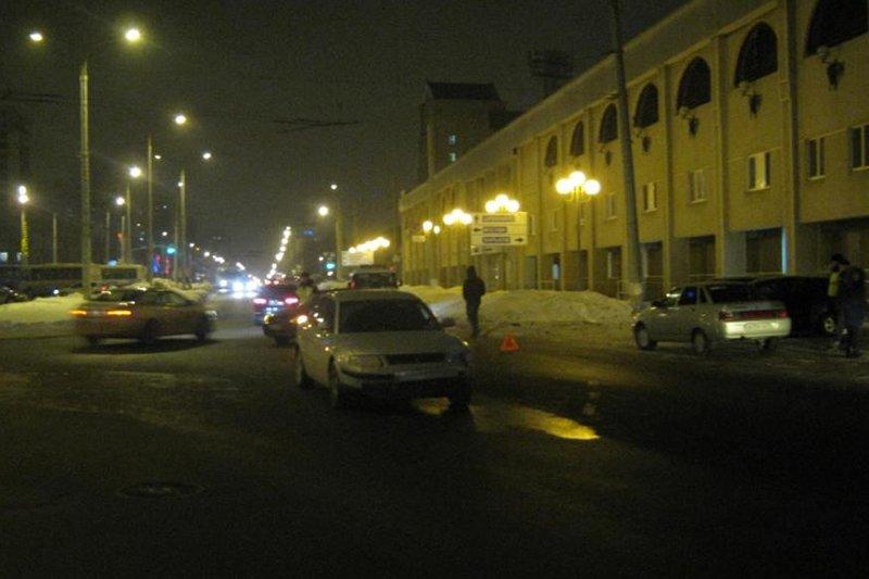 В Белгороде на «зебре» сбили женщину, фото-1