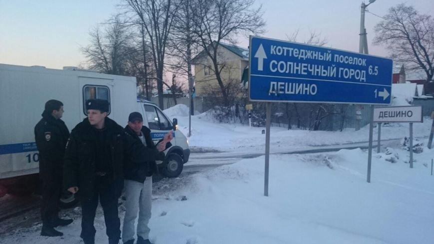 Задержан подозреваемый в совершении серии краж из частных домов Новой Москвы (ФОТО), фото-3