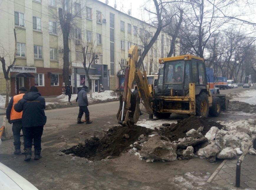 Центр Каменского временно остался без воды, фото-1