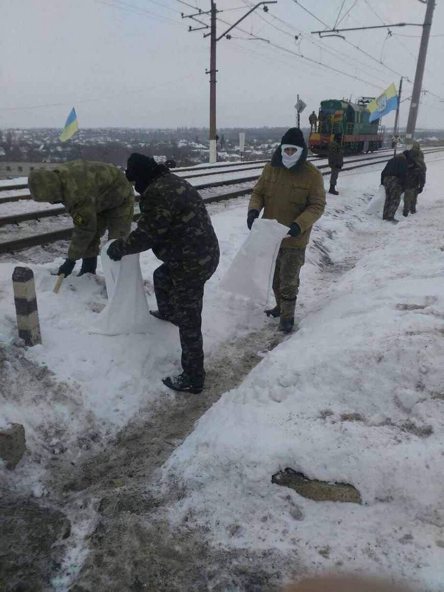 """Бойцы 40-го батальона """"Кривбасс"""" присоединились к блокаде торговли с оккупированными территориями (ФОТО, ВИДЕО), фото-3"""