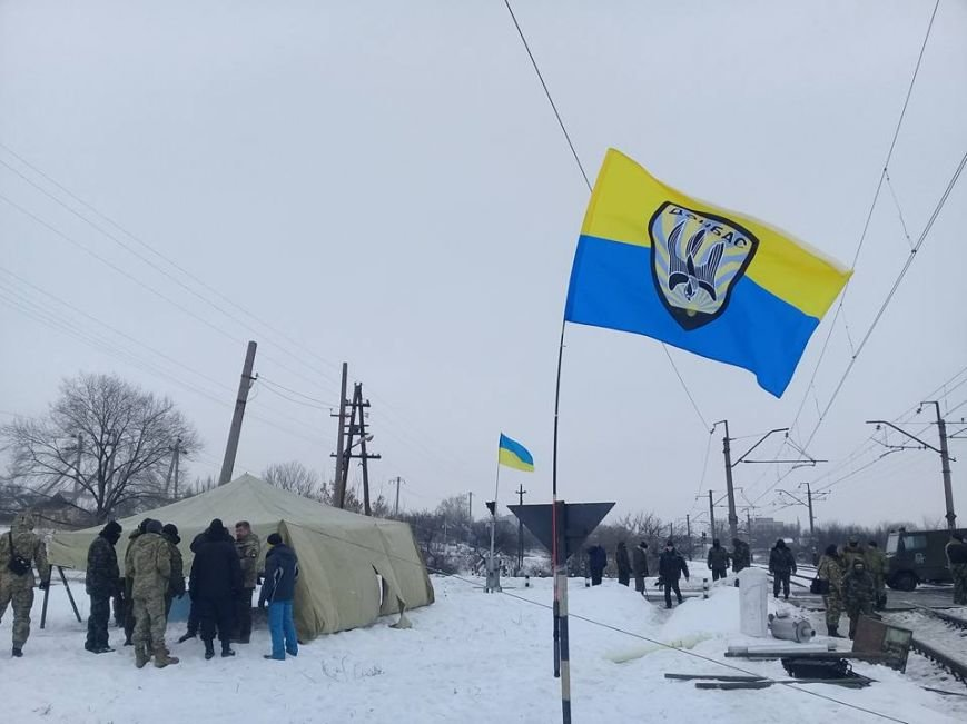 """Бойцы 40-го батальона """"Кривбасс"""" присоединились к блокаде торговли с оккупированными территориями (ФОТО, ВИДЕО), фото-2"""