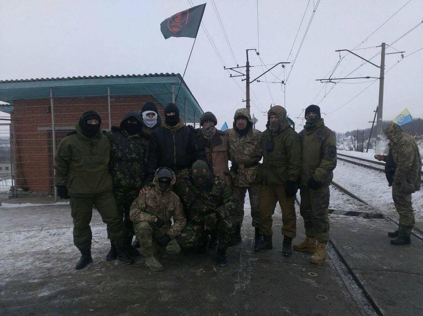 """Бойцы 40-го батальона """"Кривбасс"""" присоединились к блокаде торговли с оккупированными территориями (ФОТО, ВИДЕО), фото-6"""
