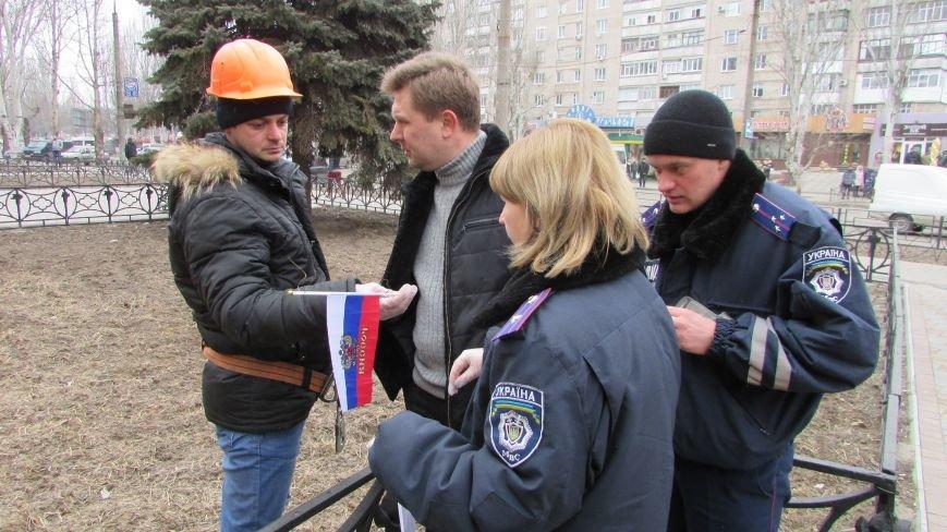 Проделки сепаратистов прибавили работы полиции и коммунальщикам, фото-8