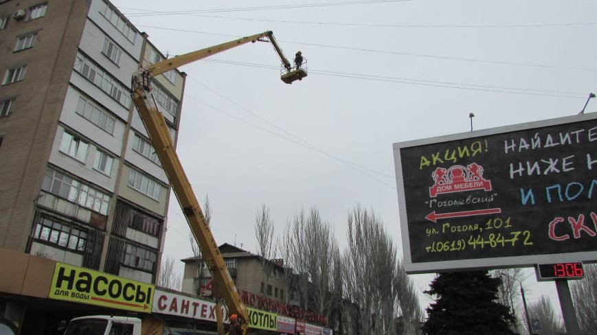 Проделки сепаратистов прибавили работы полиции и коммунальщикам, фото-4