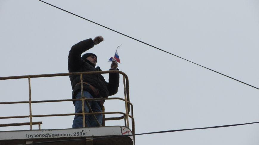 Проделки сепаратистов прибавили работы полиции и коммунальщикам, фото-5