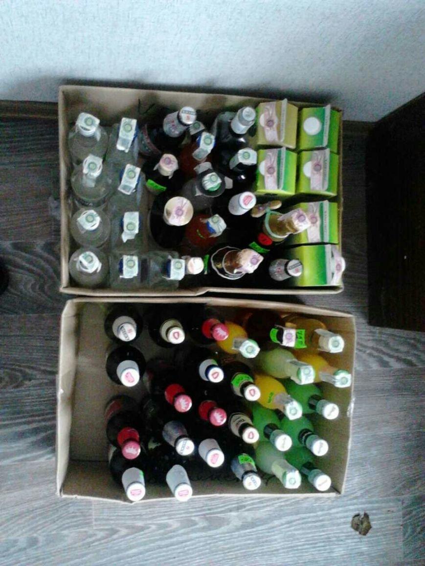 В баре на Грушевского полиция Каменского изъяла алкоголь, фото-4