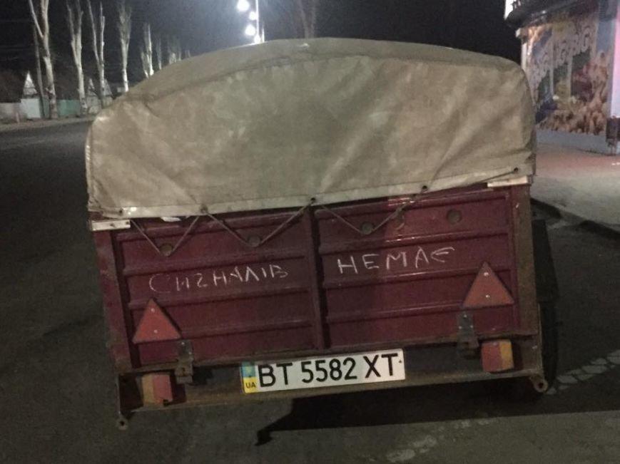 Херсонці з гуманітаркою по дорозі в Авдіївку потрапили в аварію (фото), фото-1