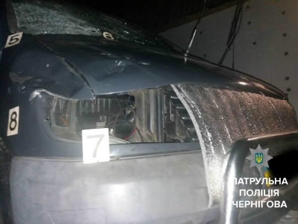 Патрульные нашли автомобиль, сбивший насмерть черниговца, фото-2