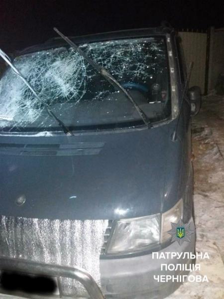 Патрульные нашли автомобиль, сбивший насмерть черниговца, фото-1