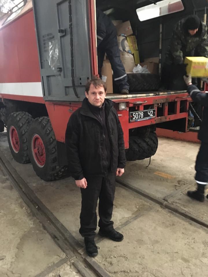 Херсонская гуманитарная помощь прибыла в Краматорск (фото), фото-1