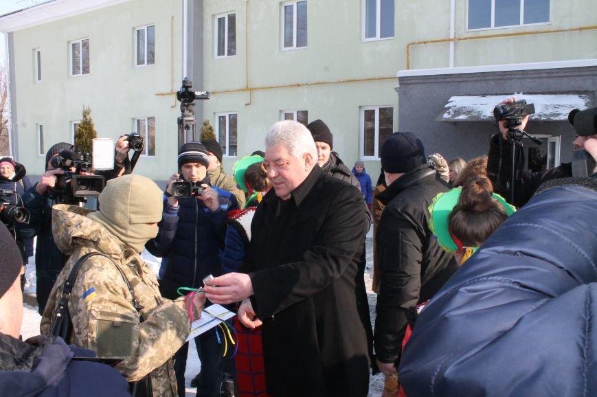 Новоселье защитников Украины в Бахмуте, фото-6