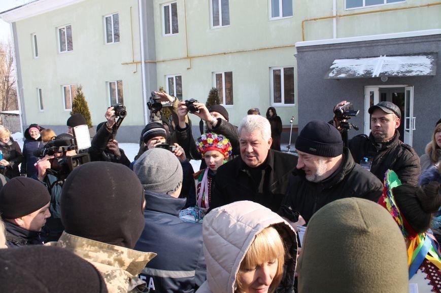 Новоселье защитников Украины в Бахмуте, фото-4