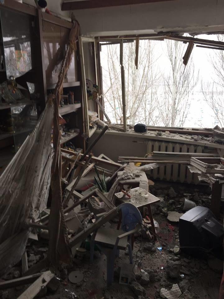 Сегодня я увидел результаты обстрела Авдеевки, - Аброськин (ФОТОФАКТ), фото-2
