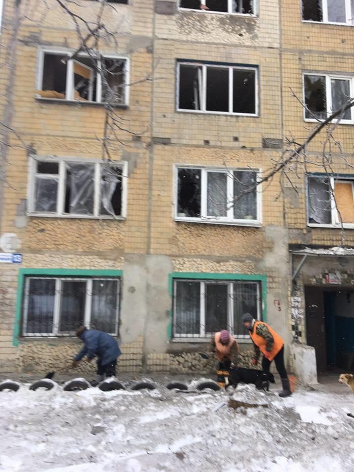 Сегодня я увидел результаты обстрела Авдеевки, - Аброськин (ФОТОФАКТ), фото-3