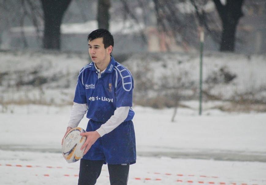 В Ужгороді відбувся перший в Україні турнір із регбі на снігу: фоторепортаж, фото-9