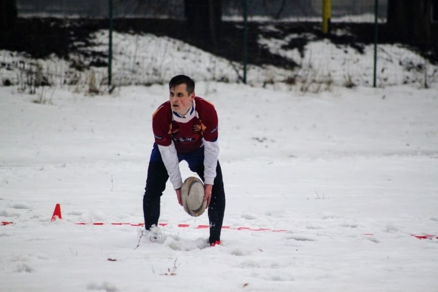 В Ужгороді відбувся перший в Україні турнір із регбі на снігу: фоторепортаж, фото-22