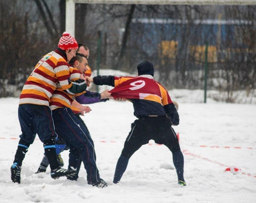В Ужгороді відбувся перший в Україні турнір із регбі на снігу: фоторепортаж, фото-5