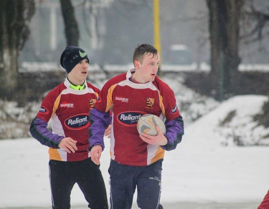 В Ужгороді відбувся перший в Україні турнір із регбі на снігу: фоторепортаж, фото-20