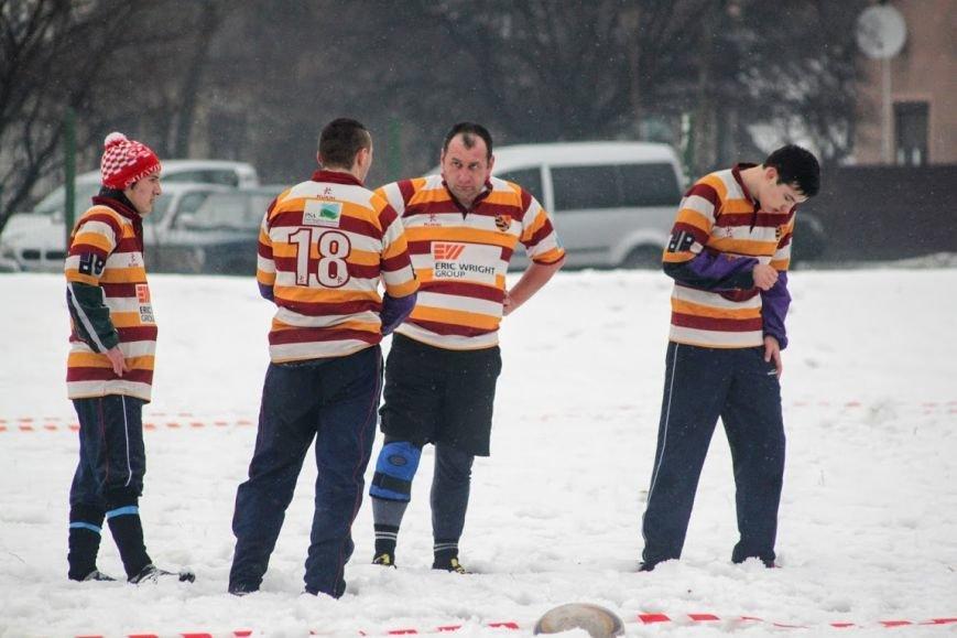 В Ужгороді відбувся перший в Україні турнір із регбі на снігу: фоторепортаж, фото-11