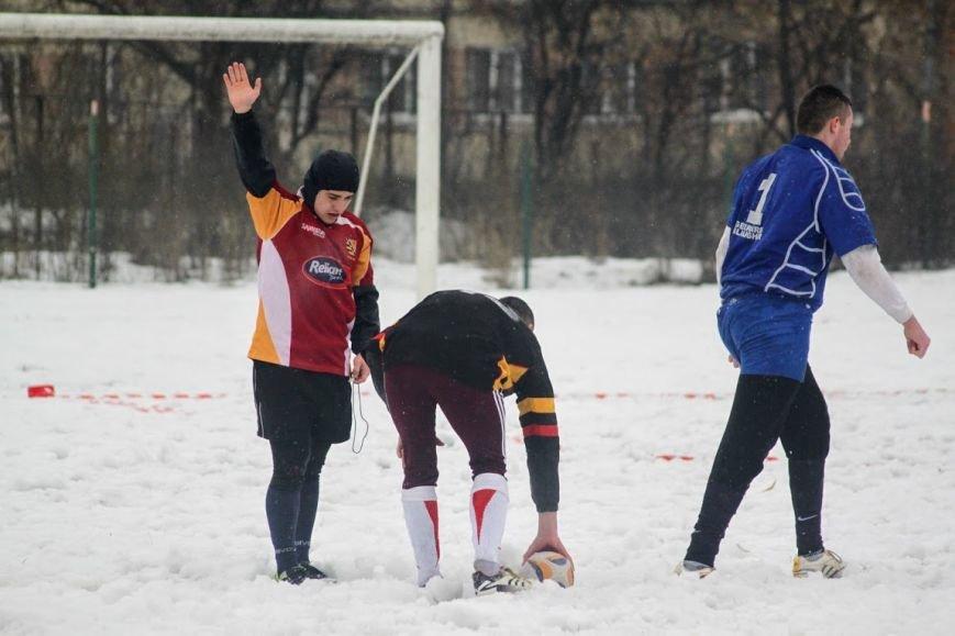 В Ужгороді відбувся перший в Україні турнір із регбі на снігу: фоторепортаж, фото-23