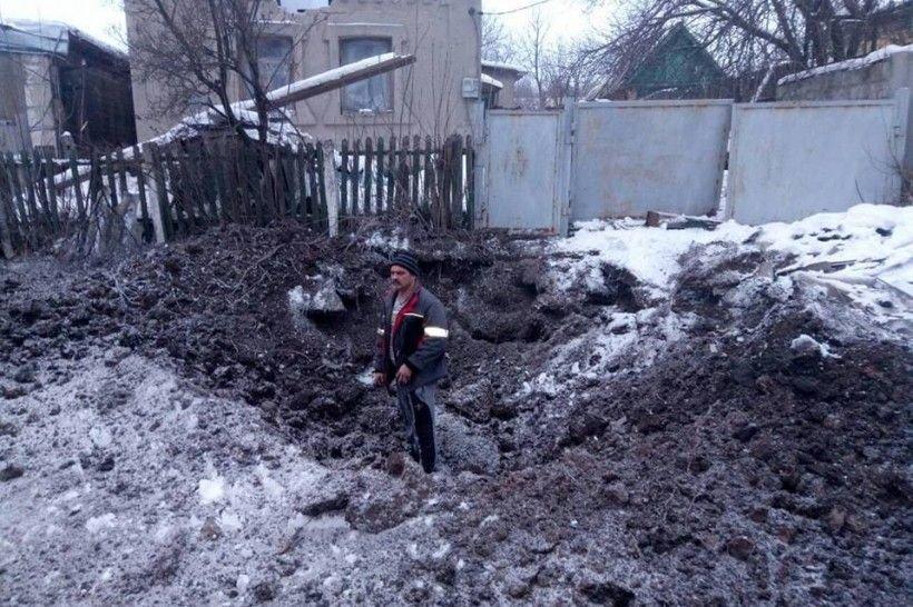 Розбомблена Авдіївка (ФОТО), фото-1