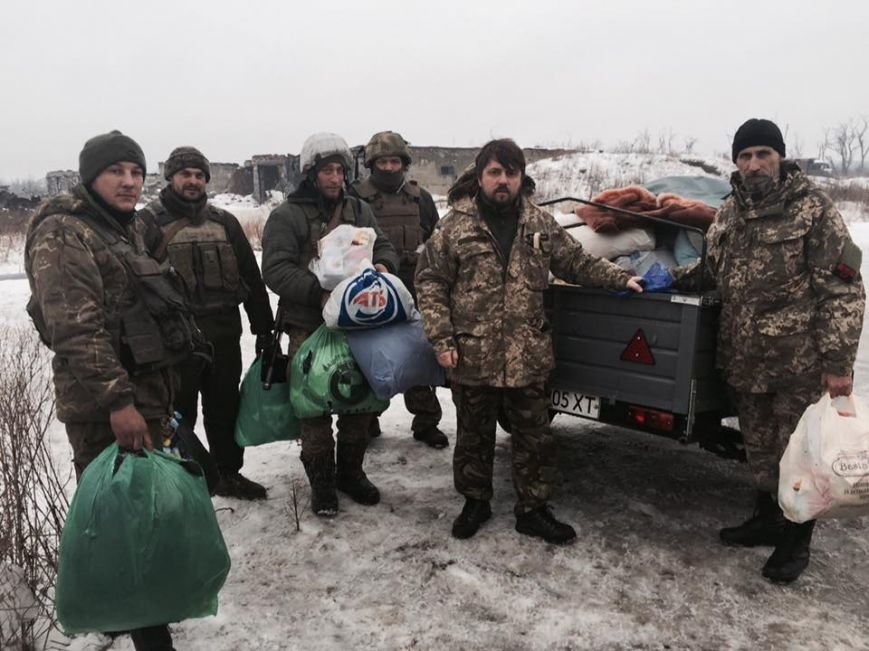 Гуманітарна допомога з Херсону для військових у Авдіївці успішно прибула за призначенням (фото), фото-2