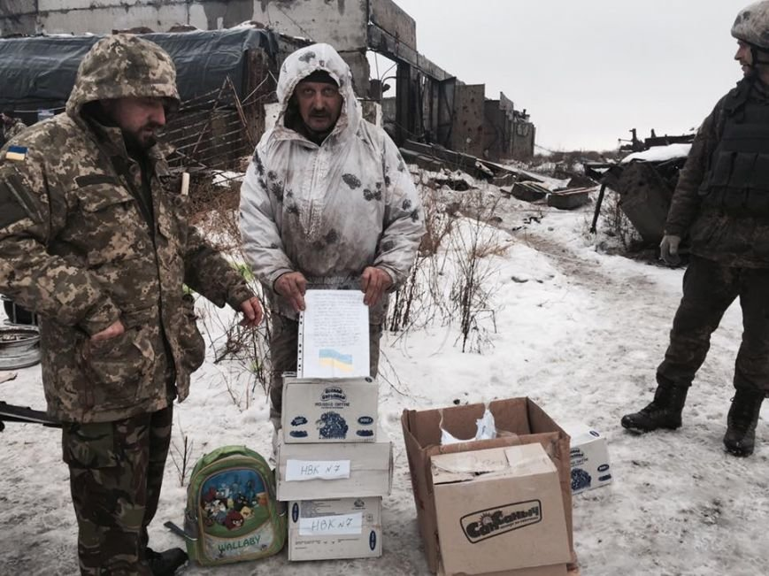 Гуманітарна допомога з Херсону для військових у Авдіївці успішно прибула за призначенням (фото), фото-1