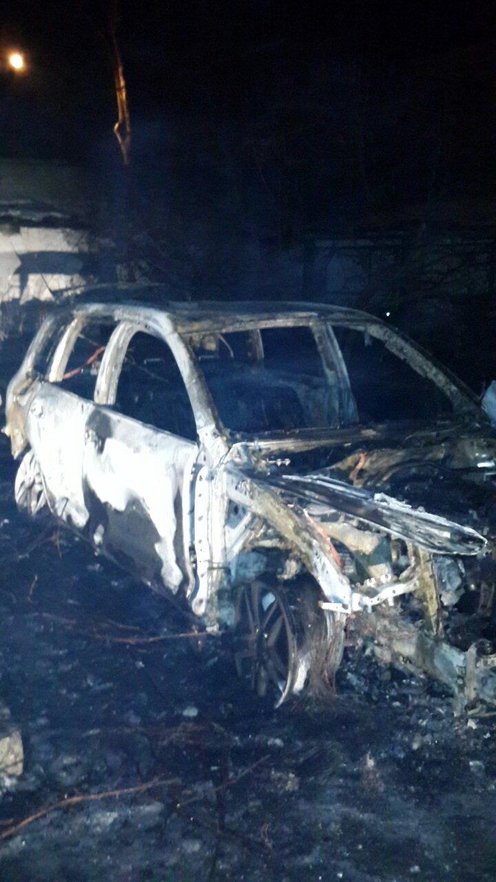 На охраняемой территории райотдела полиции Кривого Рога сожгли вещдок - внедорожник судьи (ФОТО), фото-2