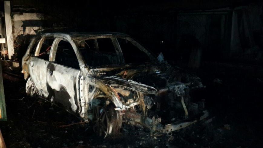 На охраняемой территории райотдела полиции Кривого Рога сожгли вещдок - внедорожник судьи (ФОТО), фото-4