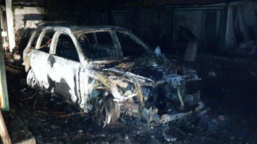 На охраняемой территории райотдела полиции Кривого Рога сожгли вещдок - внедорожник судьи (ФОТО), фото-3