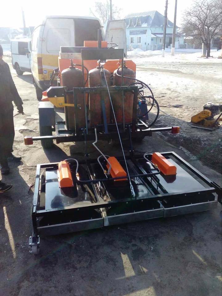 В Конотопі посеред зими ремонтують дорожнє покриття (+ФОТО), фото-1