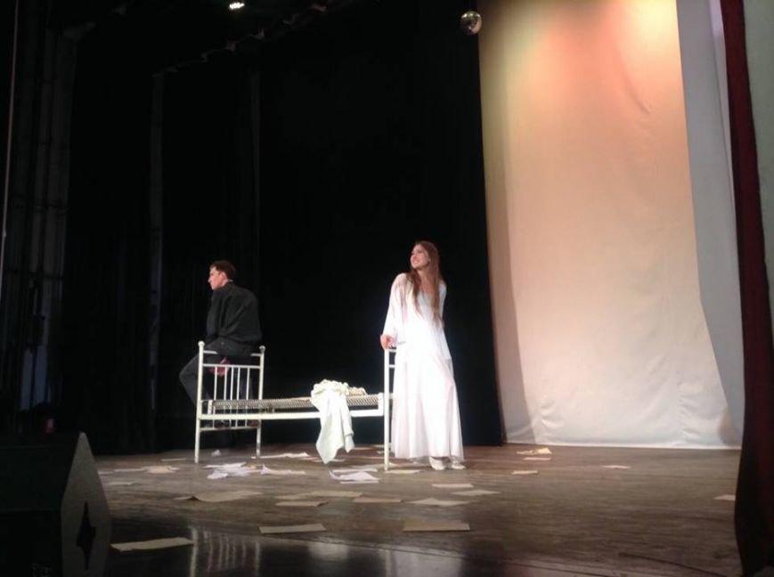 На мариупольской сцене показали две стороны души одного Высоцкого (ФОТО, ВИДЕО), фото-7