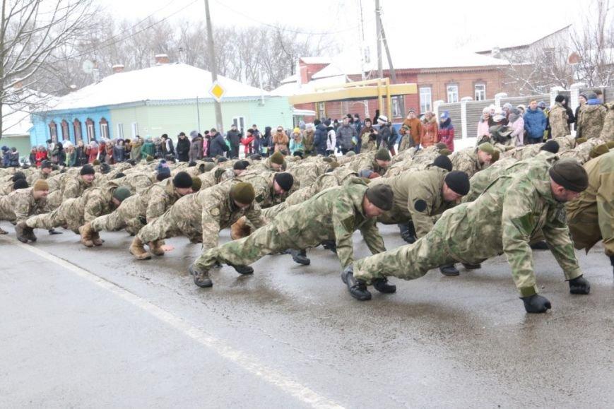 Участие в флешмобе отжиманий принял мэр Чернигова и его заместители, фото-4