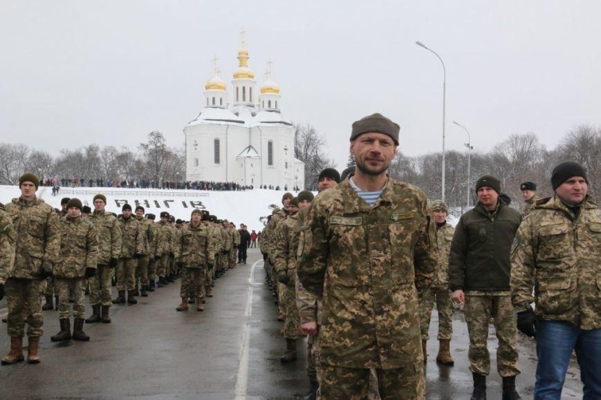 Участие в флешмобе отжиманий принял мэр Чернигова и его заместители, фото-2